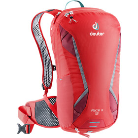 Deuter Race X Mochila 12 Litros, chili/cranberry